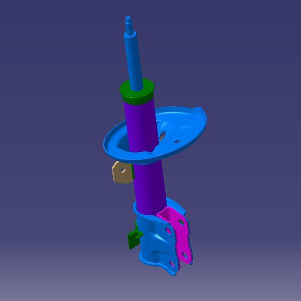 کمک فنر جلو راست آریزو 5 مدل CVT
