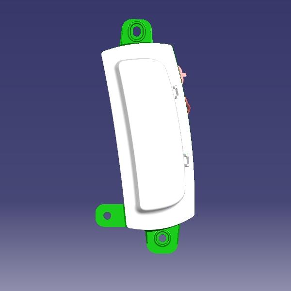 دی لایت جلو چپ MVM X22