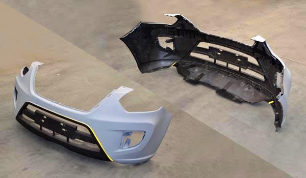 سپر جلو MVM X33 جدید مدل CVT